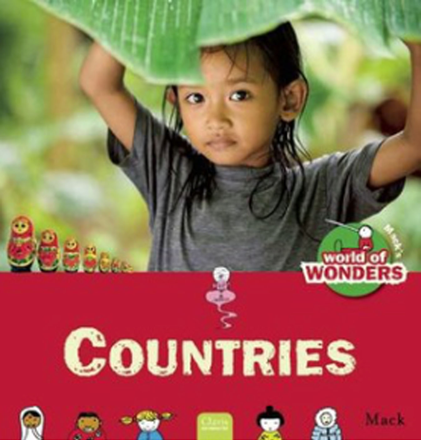 Book Buzz: Mack's World of Wonder- Countries