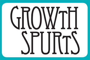 Growth Spurts: Not the First, But the First of Many More