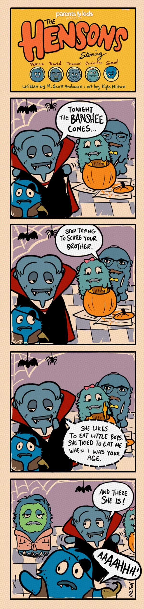 The Hensons: Halloween