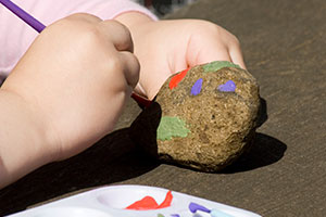 Kid Craft: Painting Rocks
