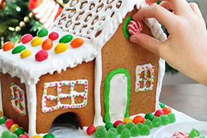 Make It a House Party: A Fun Twist to Traditional Gingerbread Houses