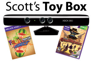 Scott's Toy Box: Connect A Kinect To Your Xbox