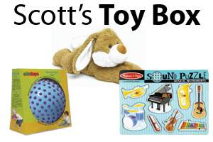 Scott's Toy Box: Satisfy Your Senses