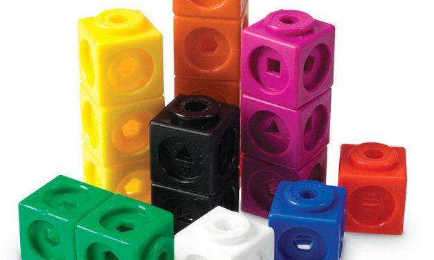 Random Stuff That Rocks: Learning Resources Mathlink Cubes