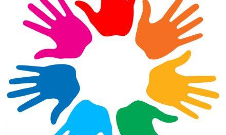 Handprint Tile Community Art Project