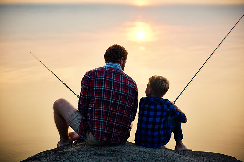 Teaching Your Kids to Fish in Mississippi