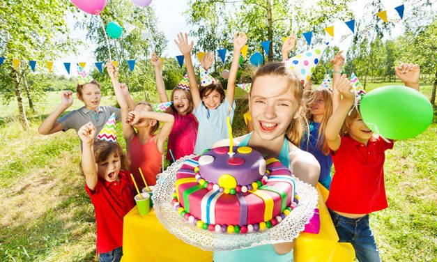 Making Children's Birthday Party Memories