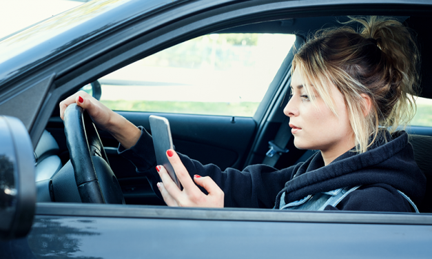 Caution Reminder: Distracted Driving