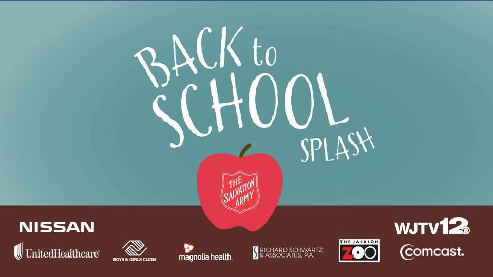 Back To School Splash July 21