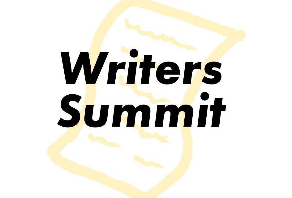Save the Date!Writers Summit on Saturday, October 20