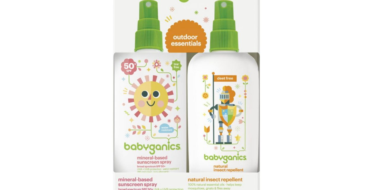 Random Stuff That Rocks: Babyganics Sun&Bug Duo Set