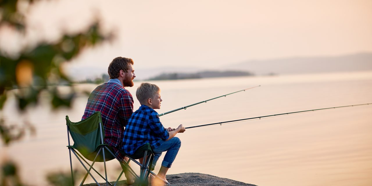 Fishing Means Bonding for Mississippi Men