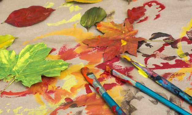 Kid Craft: Fall Leaf Prints