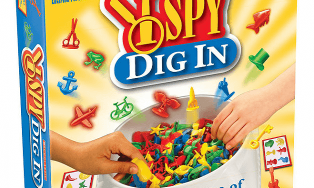 Random Stuff That Rocks: I SPY Dig In