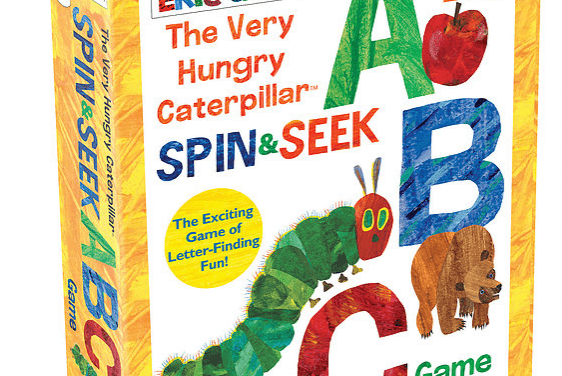 Random Stuff That Rocks: The Very Hungry Caterpillar Spin & Seek ABC Game