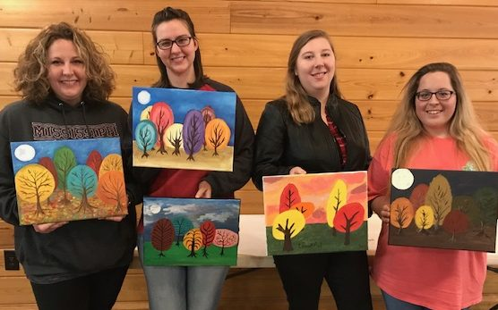Ladies' Paint Nights in Clinton