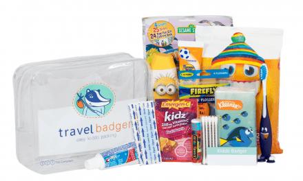 Random Stuff That Rocks: Travel Badger Travel Kiddo Kit