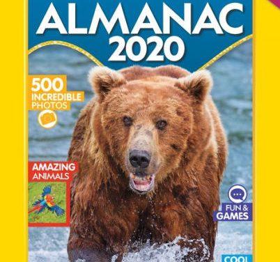Random Stuff That Rocks: National Geographic Kids Almanac 2020