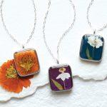 Random Stuff That Rocks: Birth Month Flower Necklace