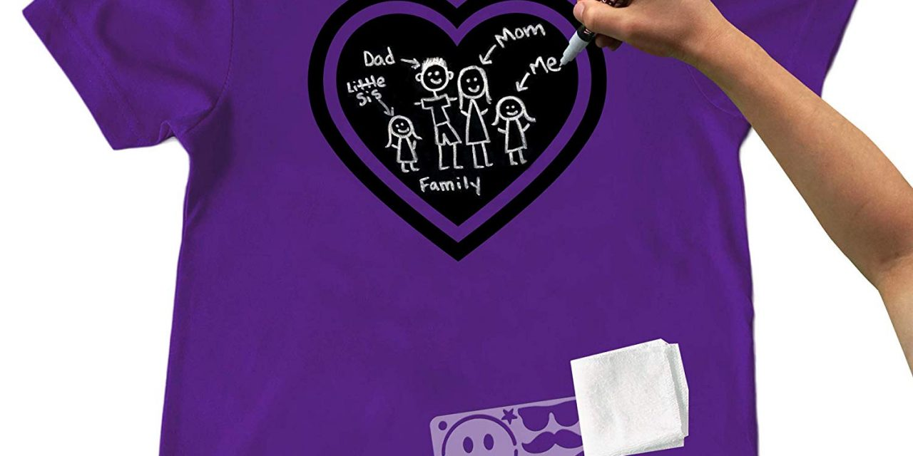 Random Stuff That Rocks: Markable and Erasable Chalkboard Shirt
