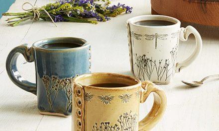 Pressed Wildflower Mug