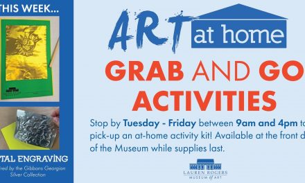 Grab and Go Activities at the Lauren Rogers Museum of Art