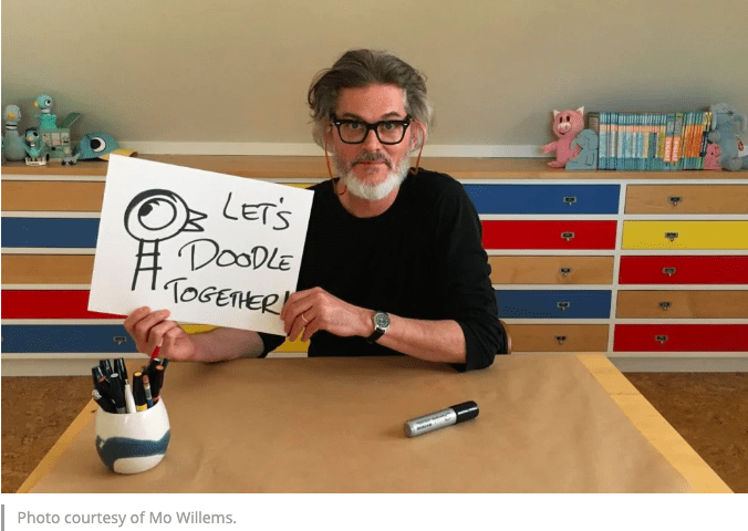Live Doodles with Mo Willems!