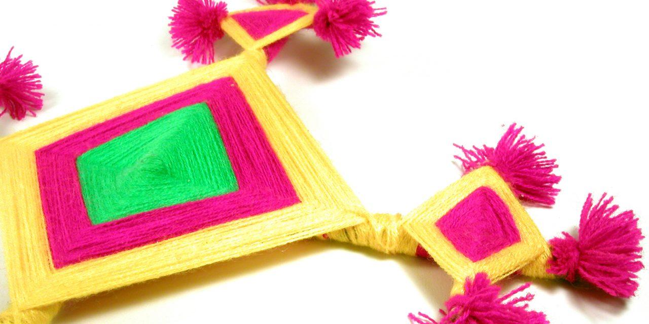 Yarn Craft: Ojo de Dios (God's Eye)