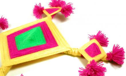 Yarn Craft: Ojo de Dios (God's Eye)