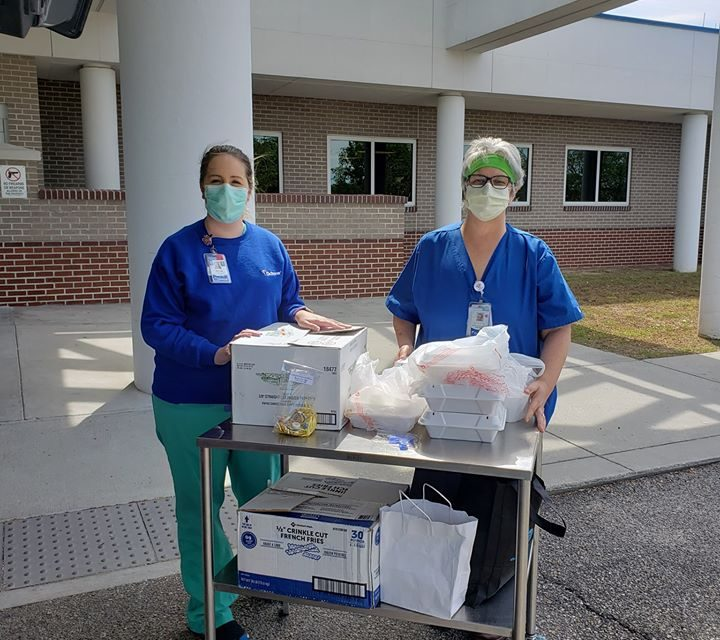From Louisiana with Love: Group Crosses State Line to Honor Mississippi Medical Staff