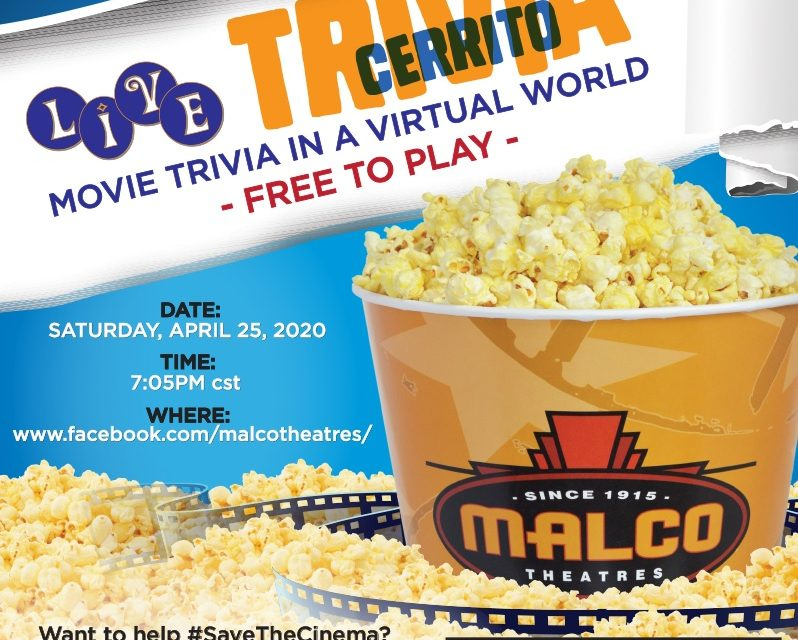 Malco Theatres Hosts Trivia Night to Benefit Theatre Industry Employees