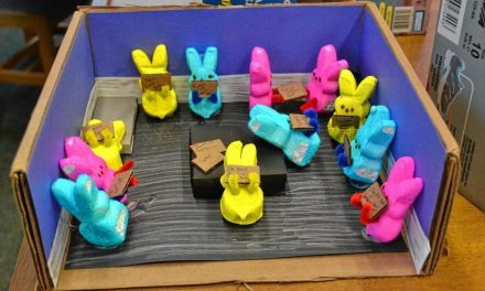 "Children's Contest Using ""Peeps"""