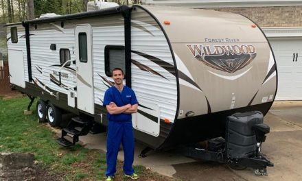 Idle RVs Matched with Health Care Workers who Need a Place to Isolate After Long Hospital Shifts