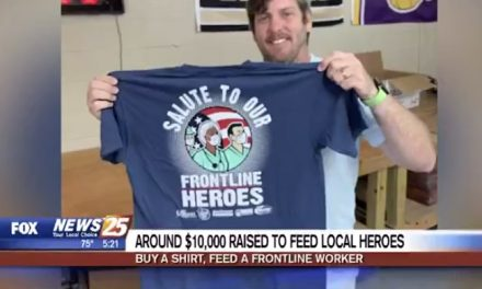 T-Shirt Sales From Local Business Providing Meals for Health Care Workers