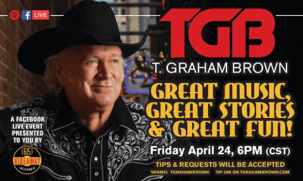 T. Graham Brown Virtual Facebook Concert This Friday, April 24