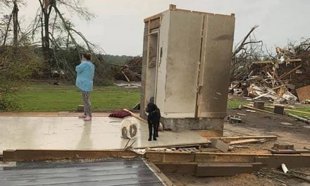 Concrete Room Saves Mississippi Family of 4 From Twister