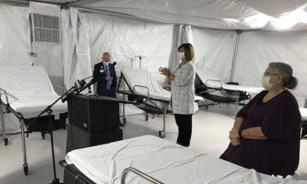 UMMC Deploys Mobile Field Hospital for COVID-19 Patients