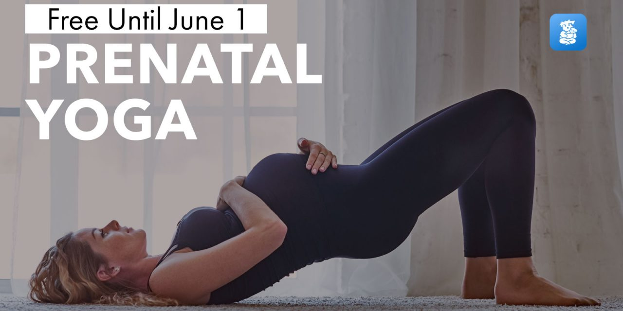 Down Dog Launches Its Prenatal Yoga App to Keep Supporting Families During the COVID-19 Outbreak