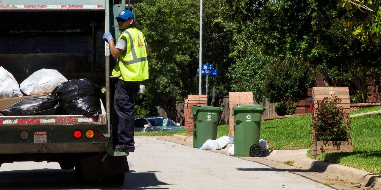 Waste Management Asks People to Limit Bulk Yard Waste