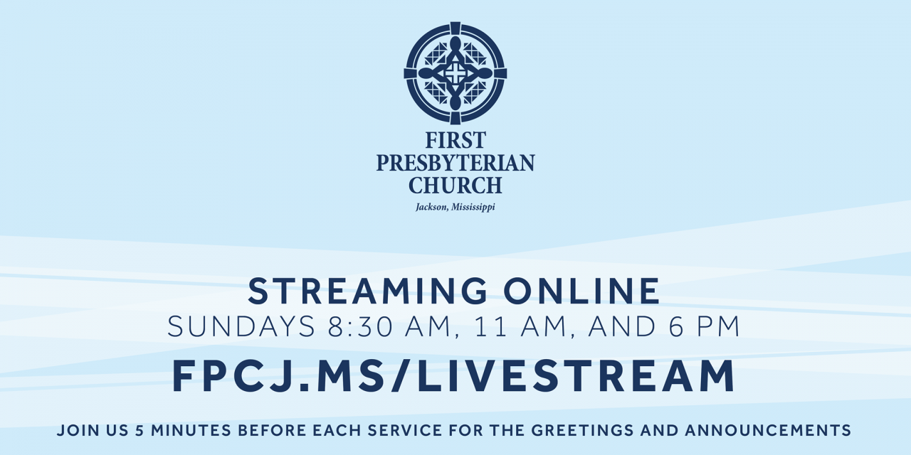 Online Livestream Church Service