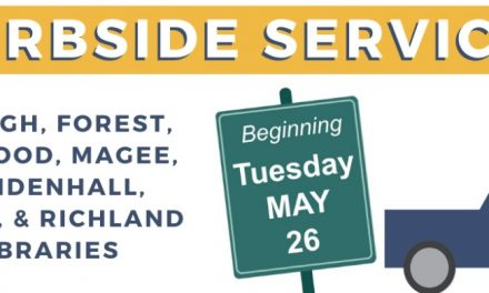 Curbside Service at Central Mississippi Regional Library System