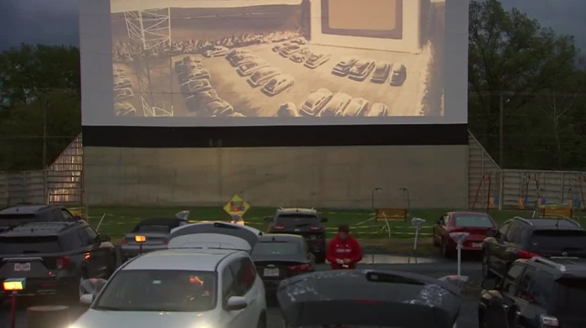 Drive-In Theaters Are Currently Popular