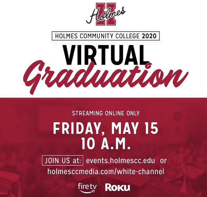 Virtual Graduation Ceremony for Students of Holmes Today