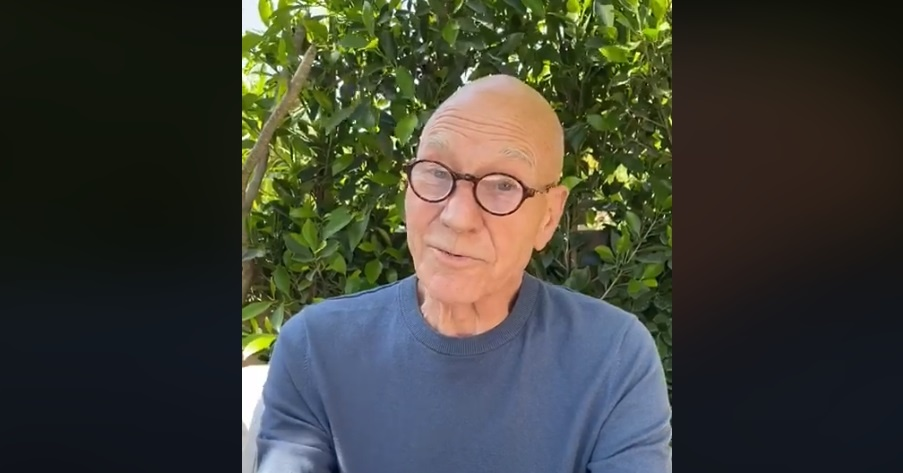 Patrick Stewart Reads Sonnets Online