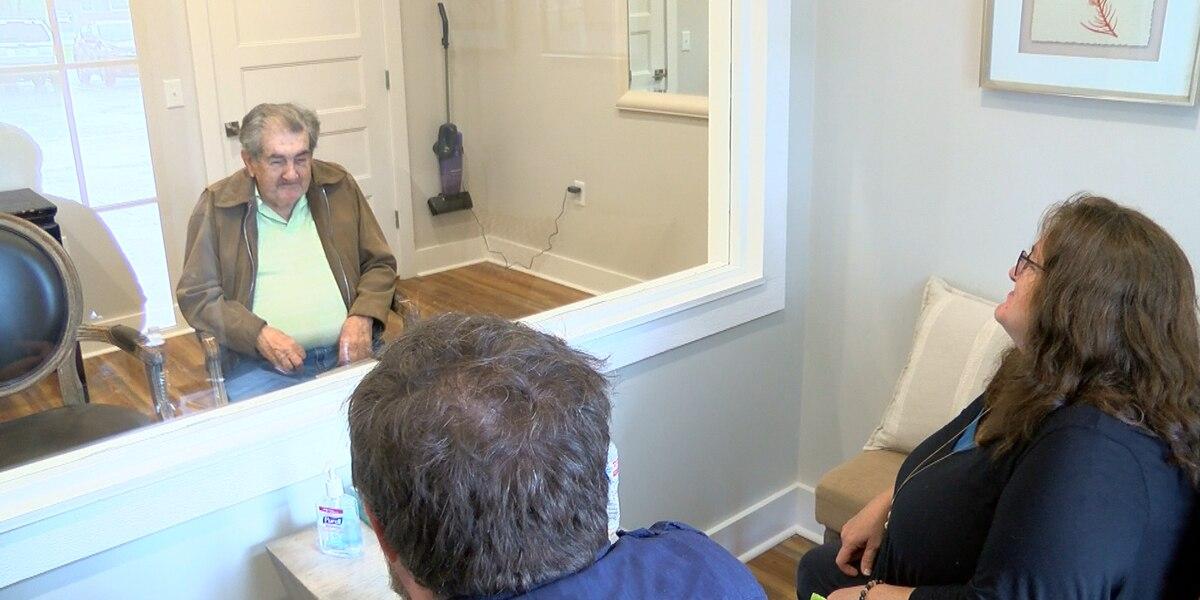 Senior Living Facility in Ocean Springs Built a Visitation Area