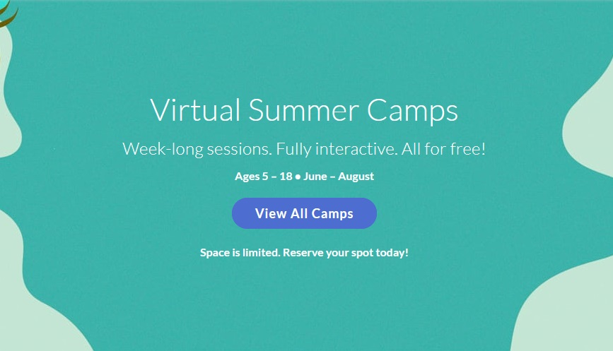 Sign Up Now for Free Virtual Summer Classes