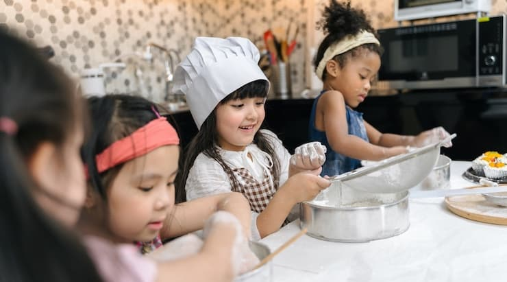 Free Virtual Cooking Camp for Kids
