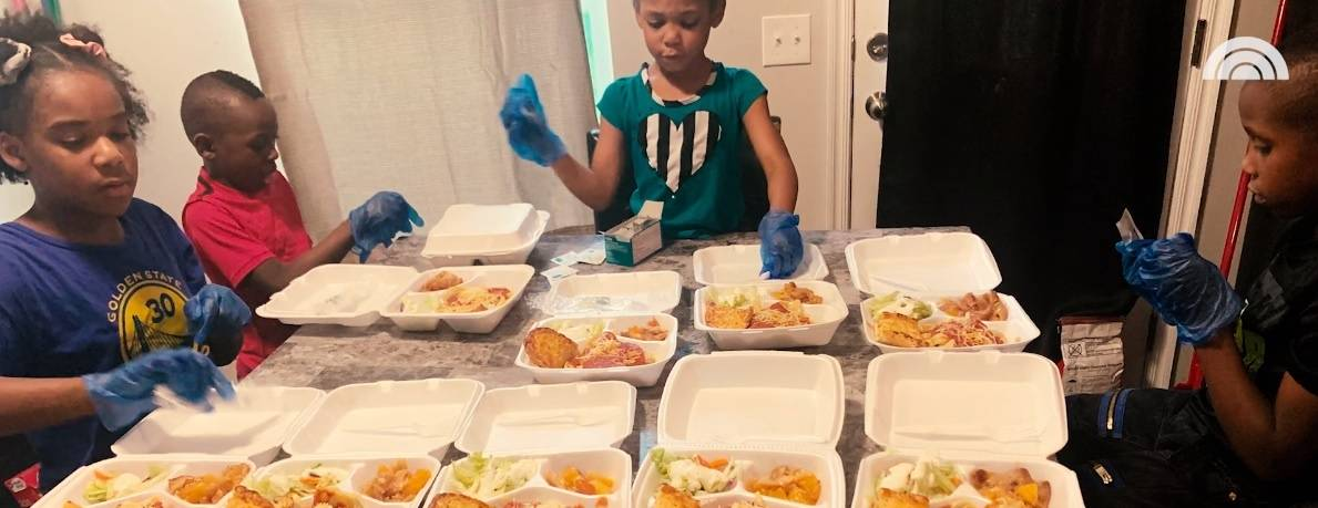 Former Homeless Family Gives Back During Pandemic