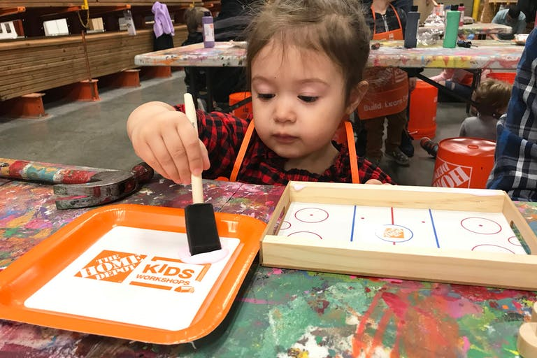 Bring the Home Depot Kids Workshop to Your Home