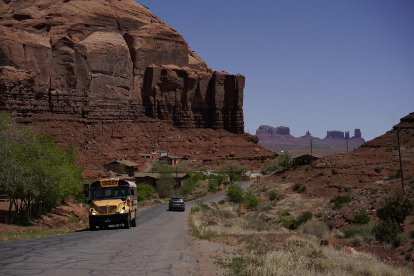 Eighth Graders Donate Field Trip Money to Navajo Nation